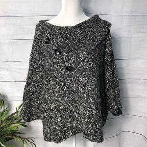 Cato Woman Sweater/Poncho Hi-Lo - 18/20W